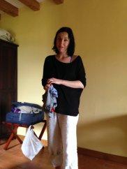 a grand-daughter - mi nieta y companera