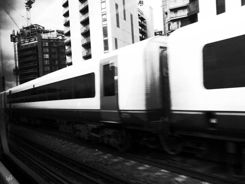 train lines poem -