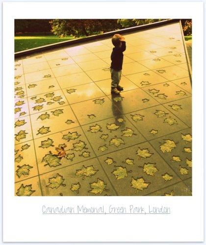 salute poem - canadian war memorial, green park