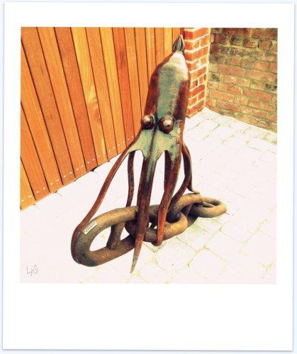 octopus jamboree - enjambment poem -