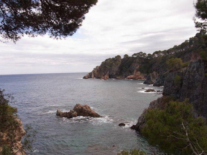 costa brava - rocky coast