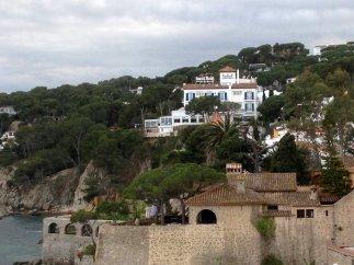 terraced levels of Calella