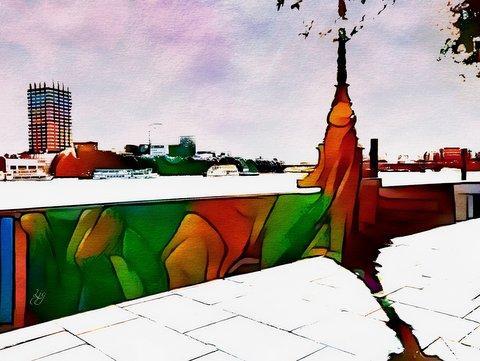 london landscape poem