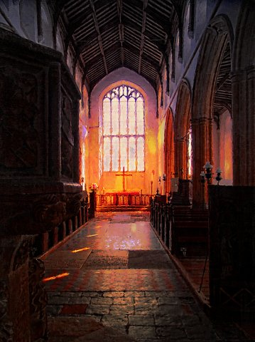 poem- magical - salthouse church photoart