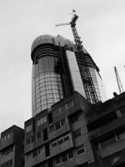 Then and now architecture as No 1 Blackfriars rises into existence