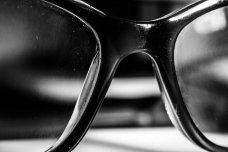 the curve of spectacles - highlights make for tonal contrast too