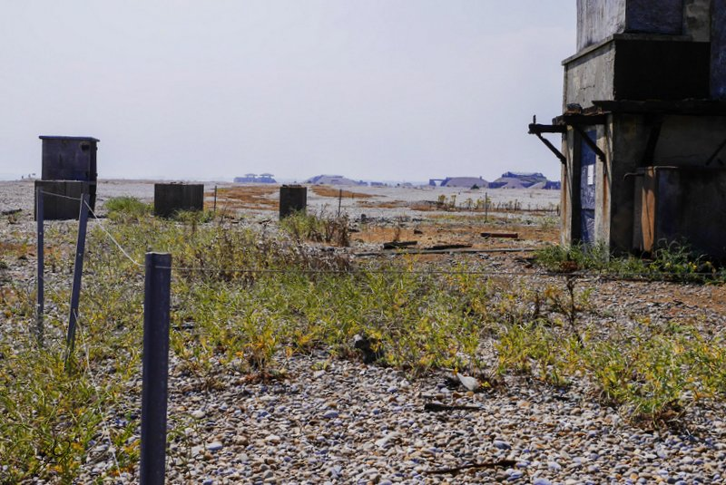 deserted buildings - Orford Ness