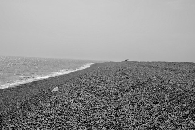 shingle beach - Orford Ness
